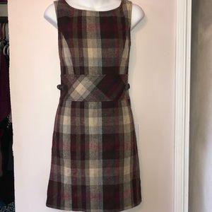 S.oliver wool plaid dress